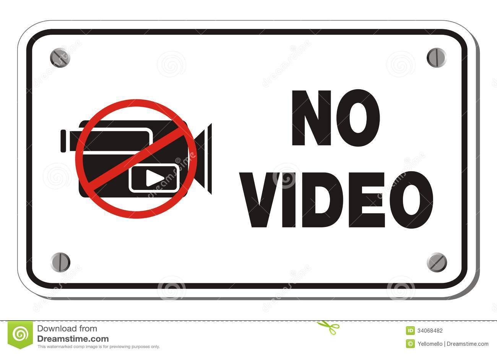 No video images 64