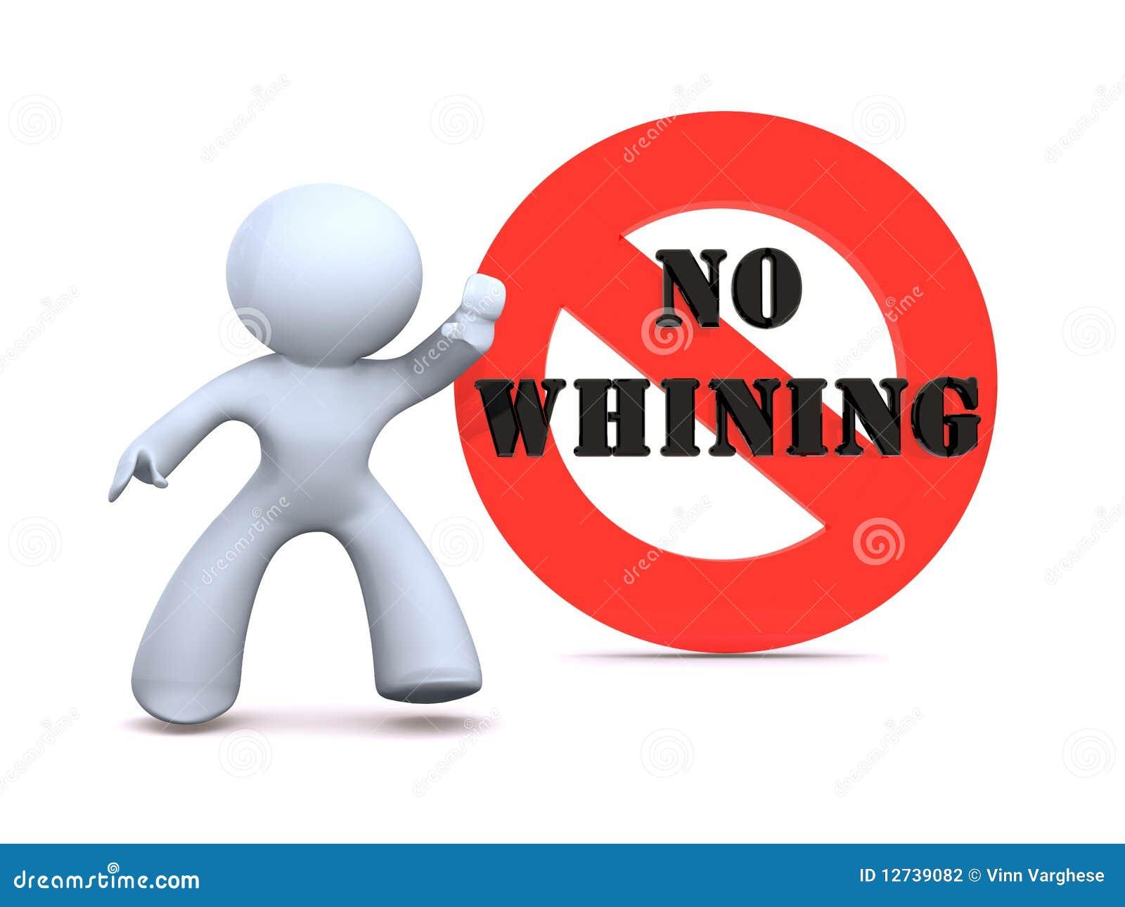 No whining stock illustration. Illustration of logo, white ...