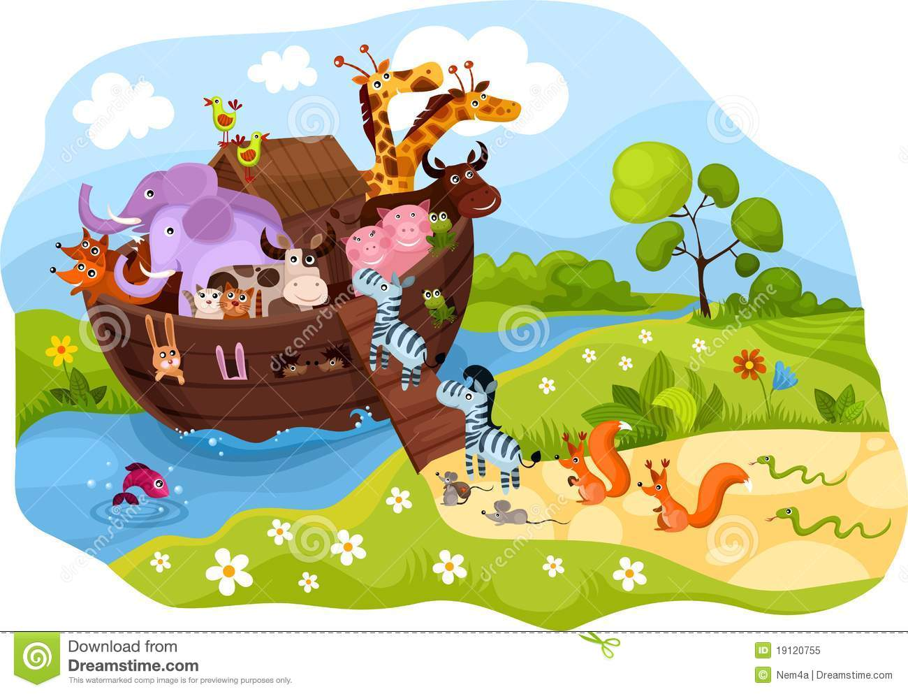 Noah's Ark Royalty Free Stock Photo - Image: 19120755
