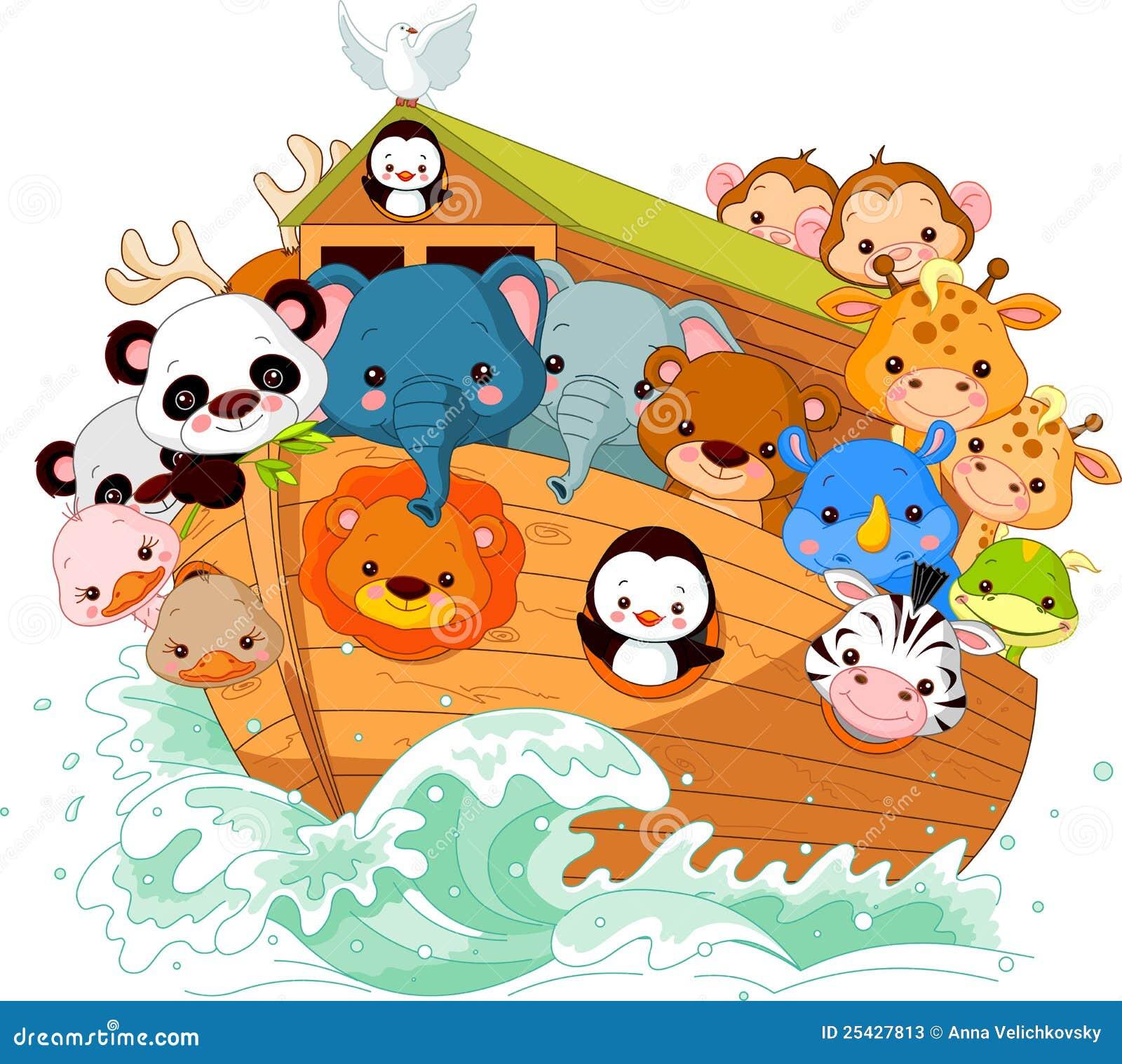 Noah's Ark stock vector  Illustration of wild, bible - 25427813