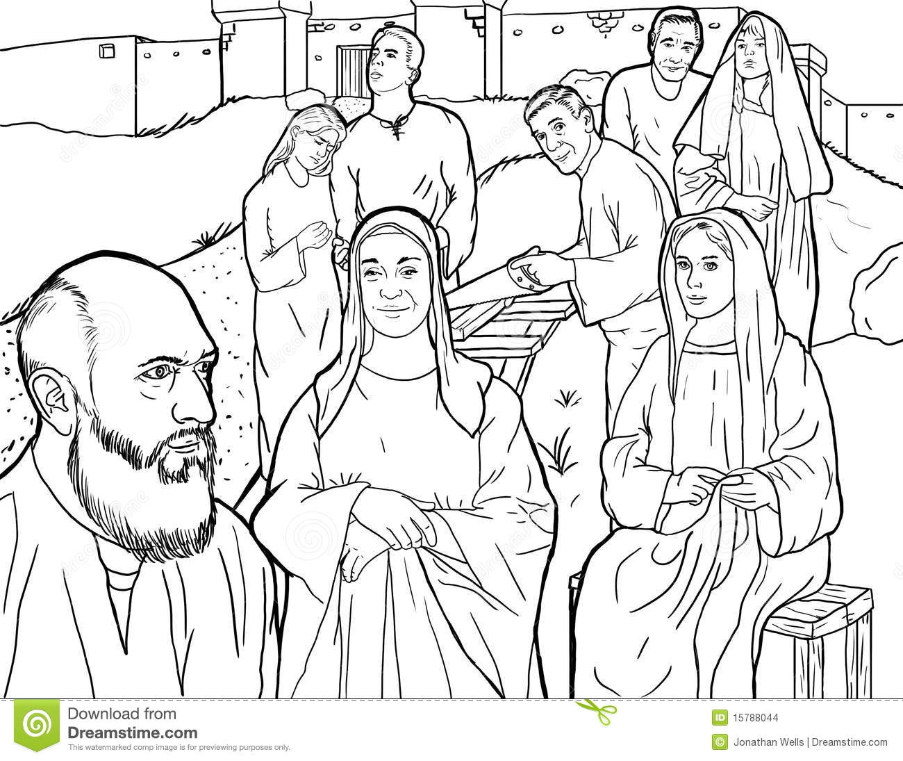 Noah's Family Stock Images - Image: 15788044