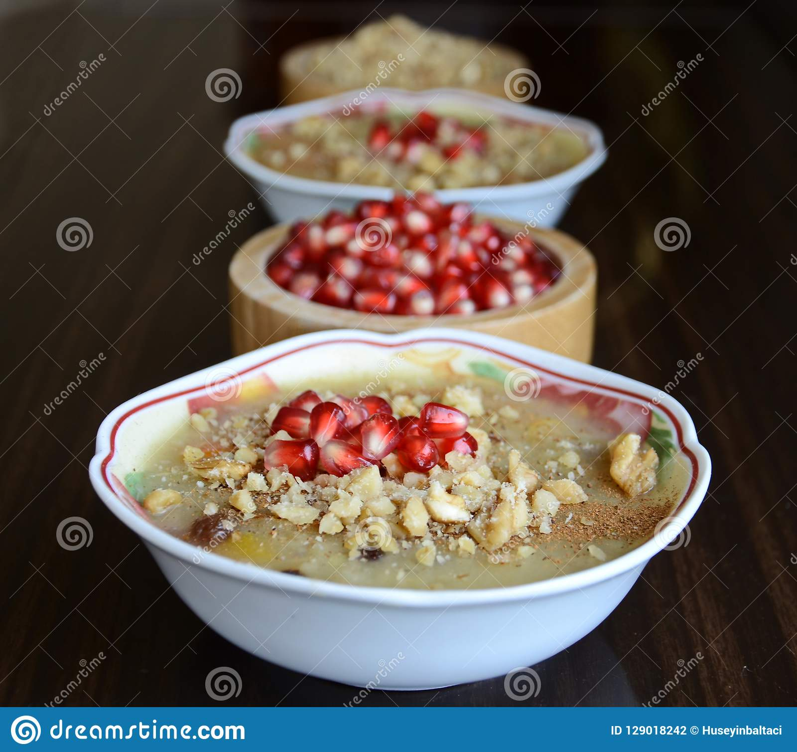 Noah ` s pudding jest tureckim deserem