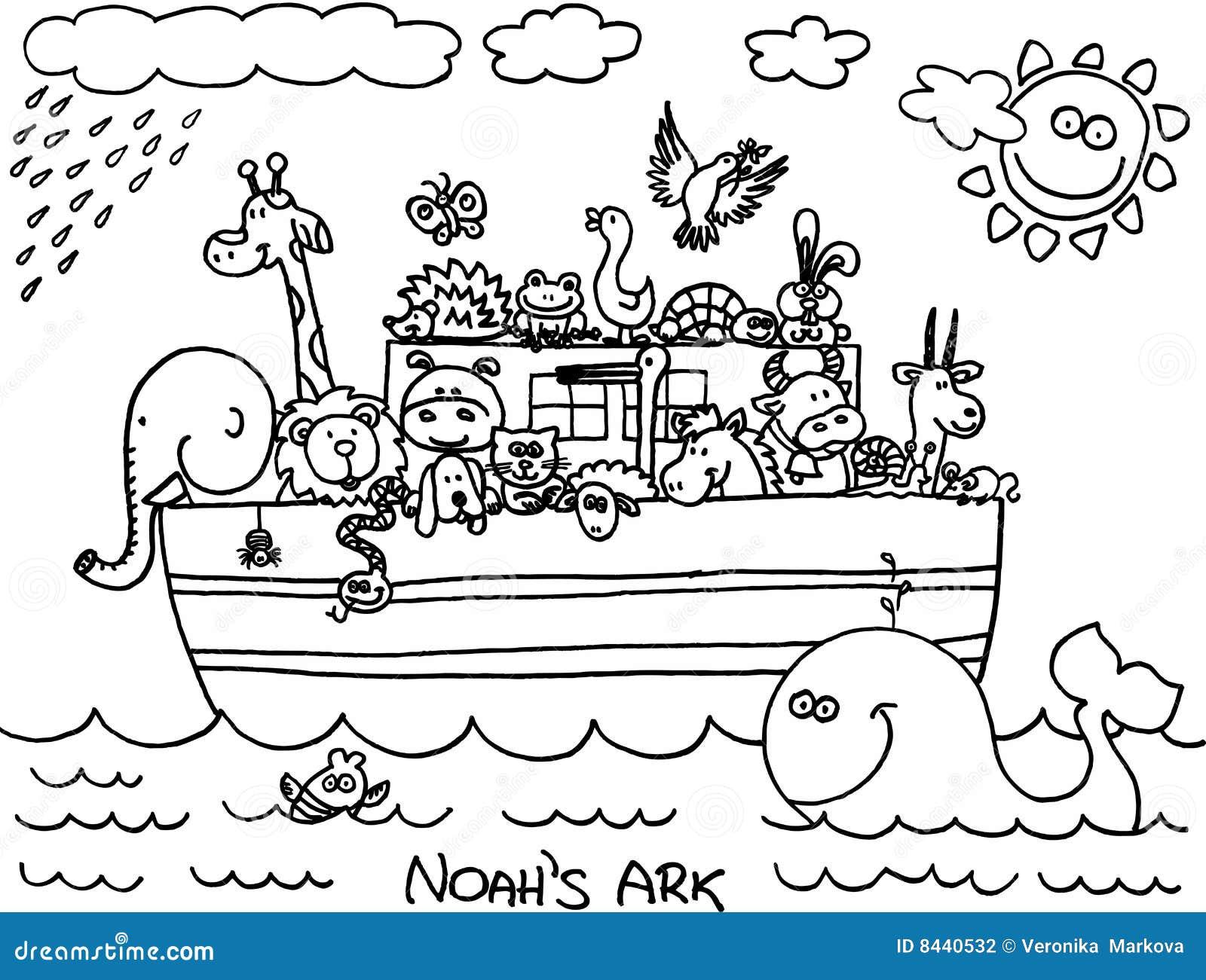 noahs ark stock photography image 8440532