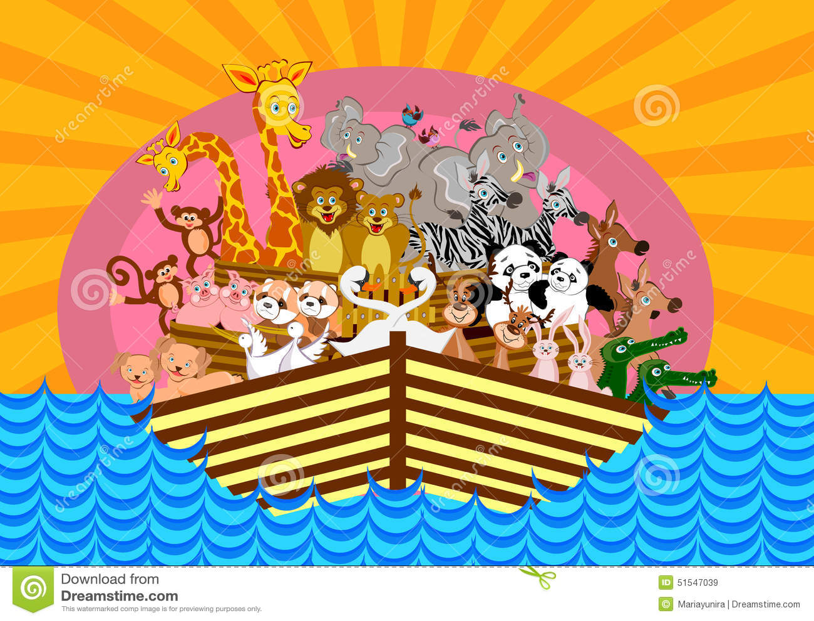 noahs ark stock illustration image 51547039