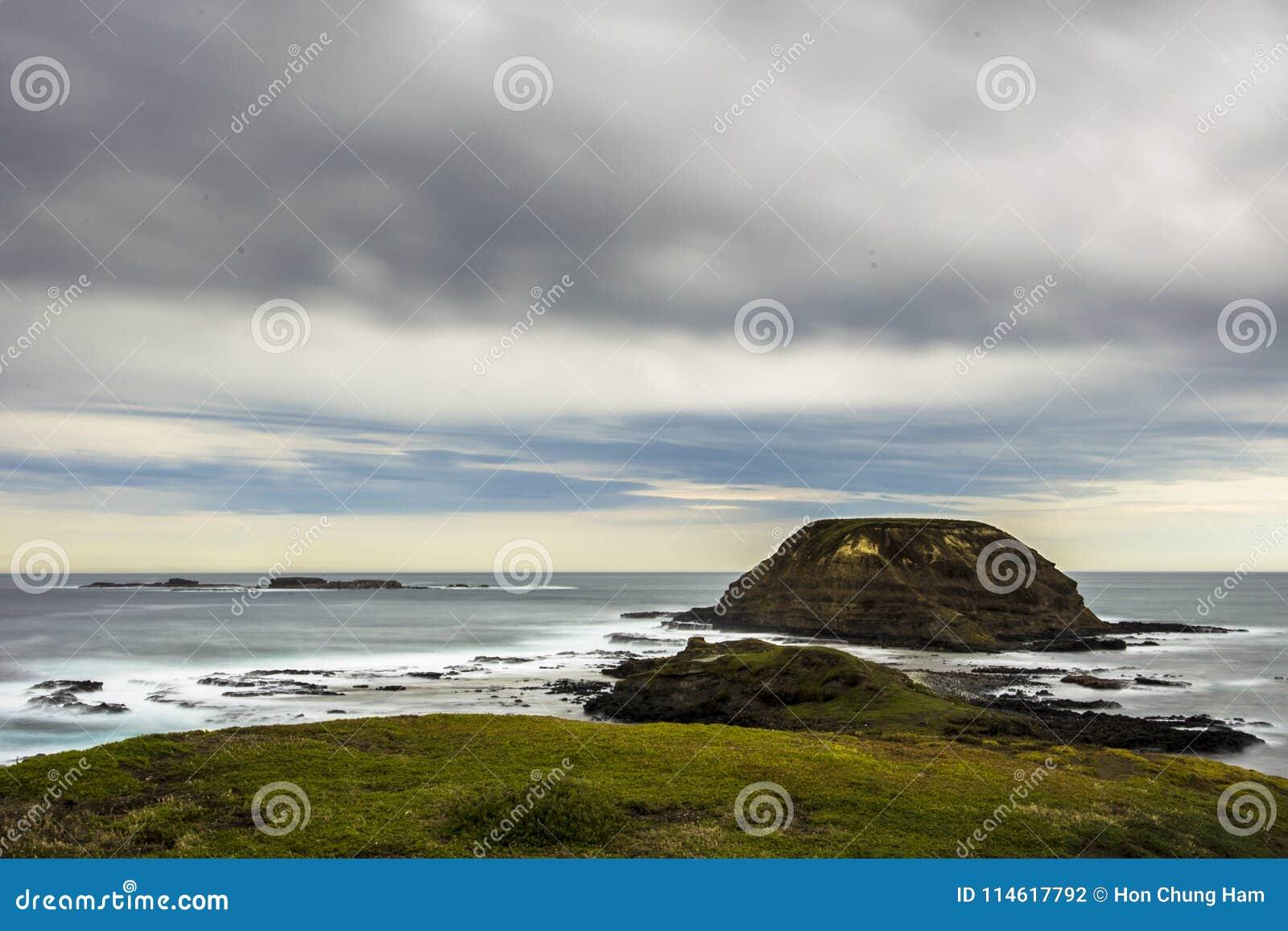 Nobbies & foki skała od ten wspaniały przylądkowego, widoki rozciągamy na zawsze i oferty spektakularny nabrzeżny viewing od boar