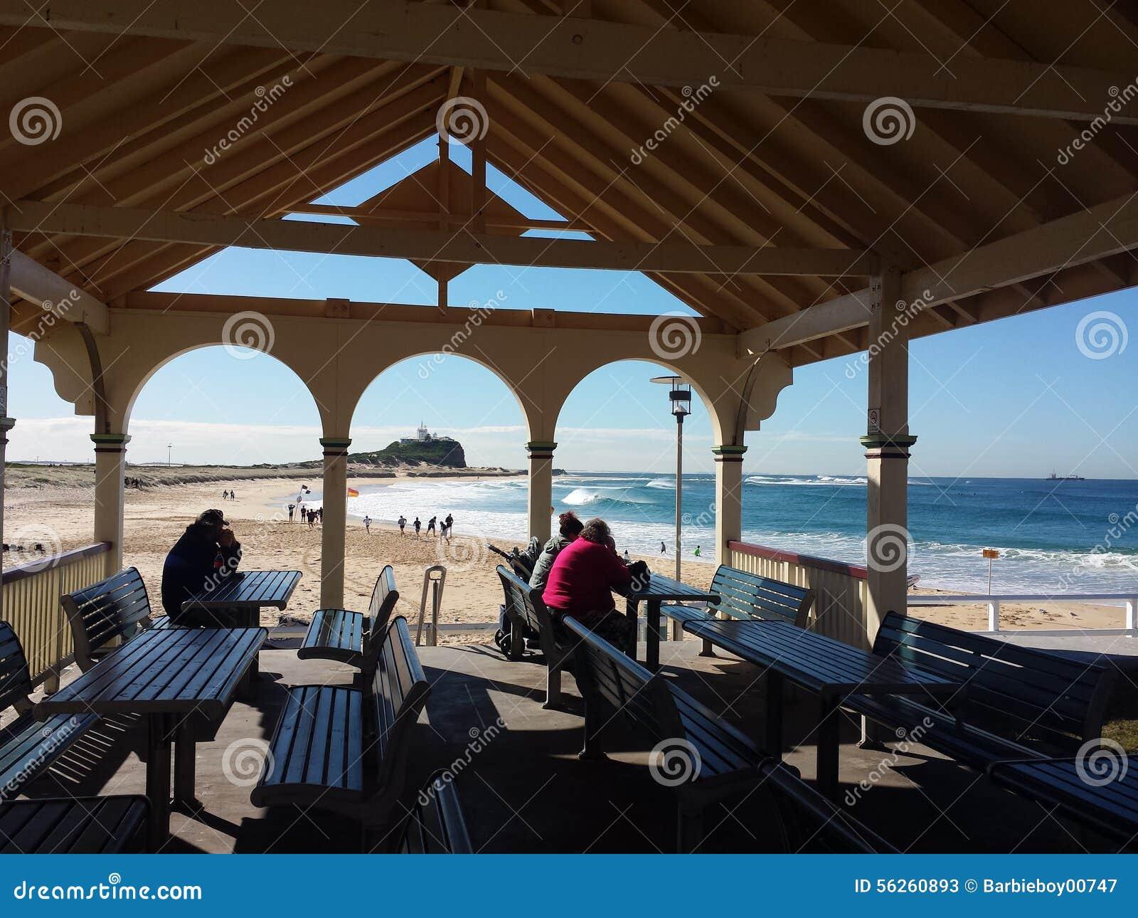 Nobbys plaża, Newcastle Australia
