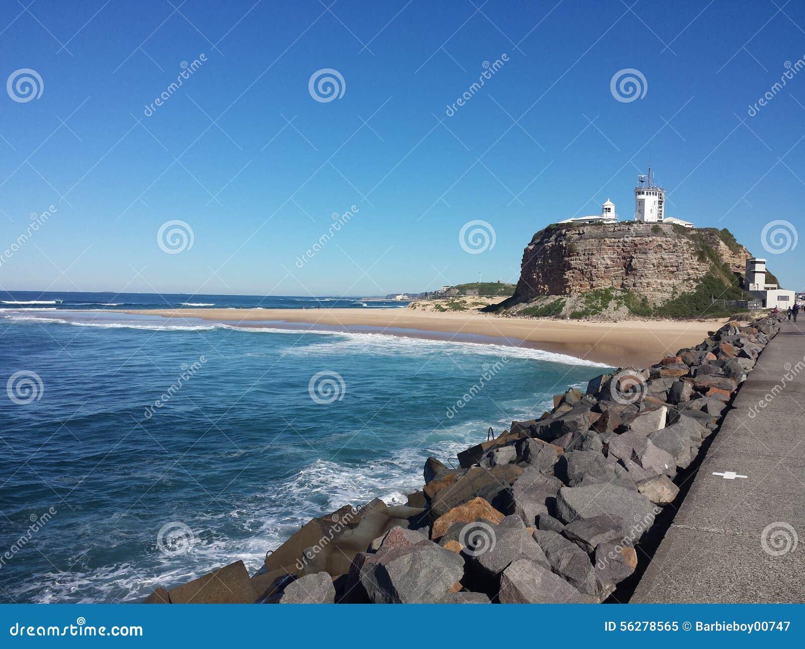Nobbys Przylądkowy i Plażowy, Newcastle Australia