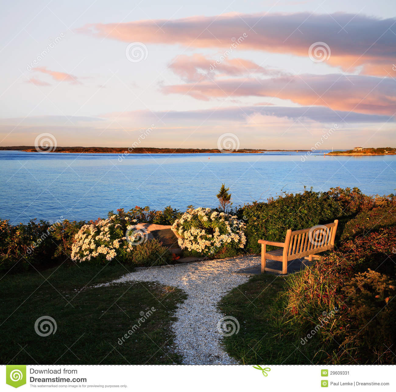 Nobska Point, Cape Cod Stock Image