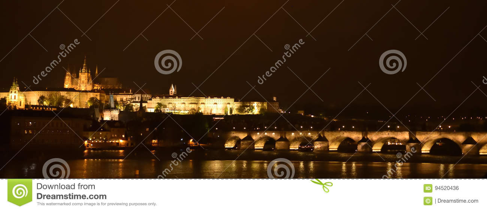 Noc grodowa Prague