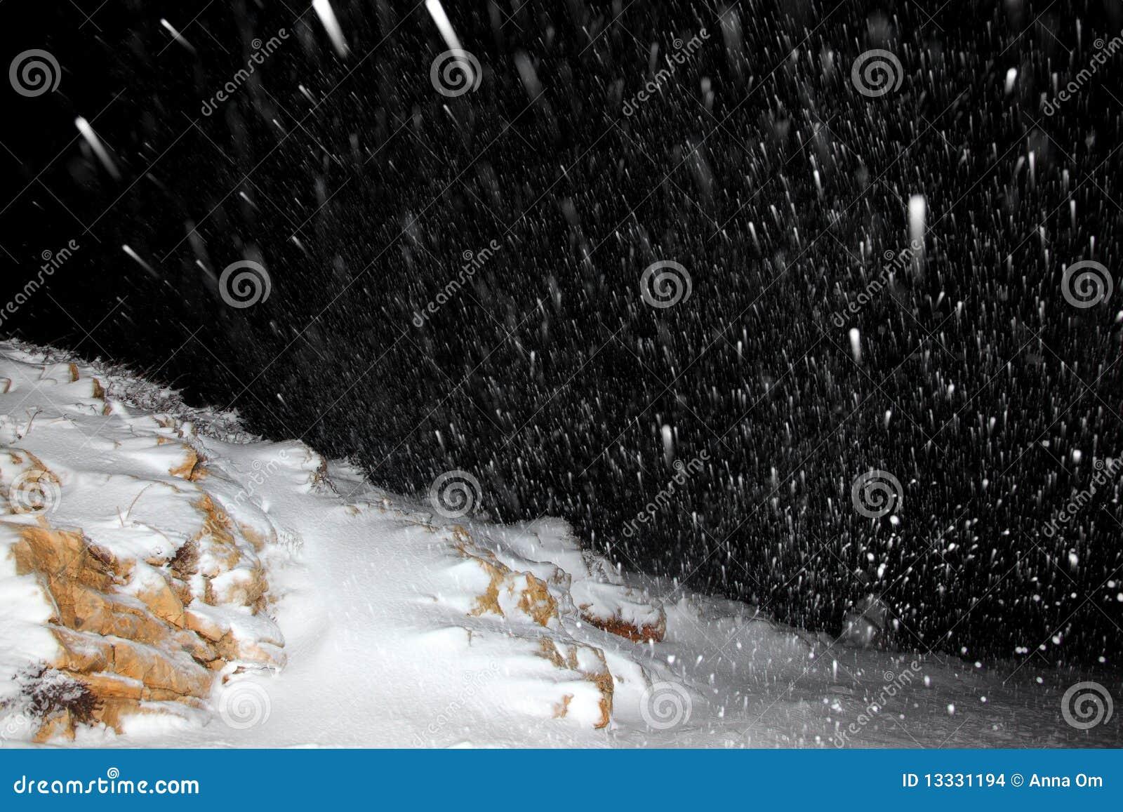 Noc opad śniegu