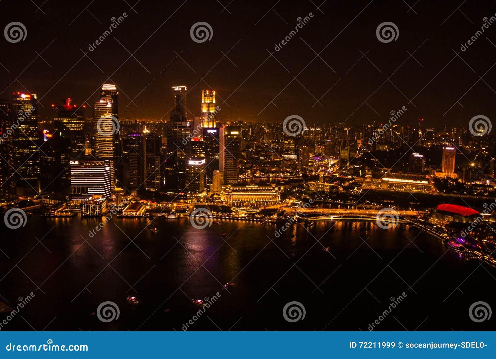 Noc Singapore miasta