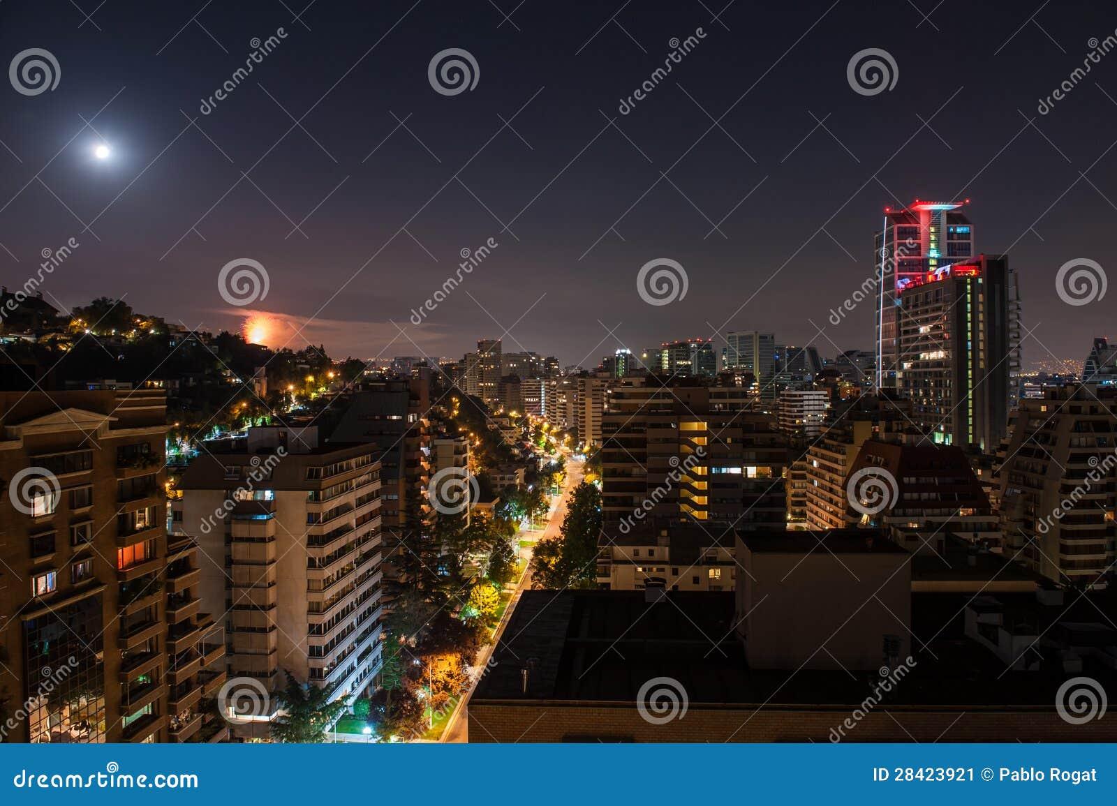 Noc w mieście