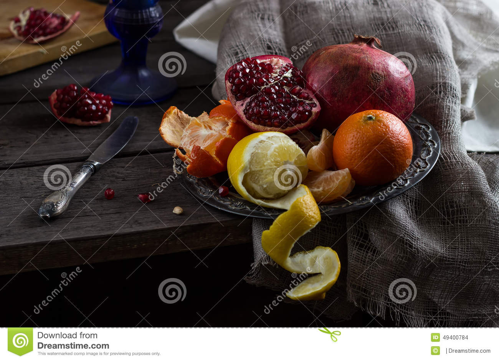 Noch Leben mit Frucht