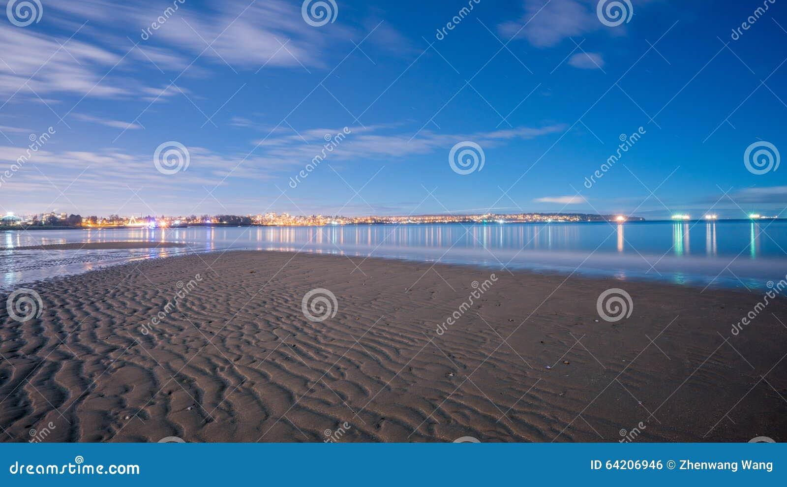 Noche en la playa