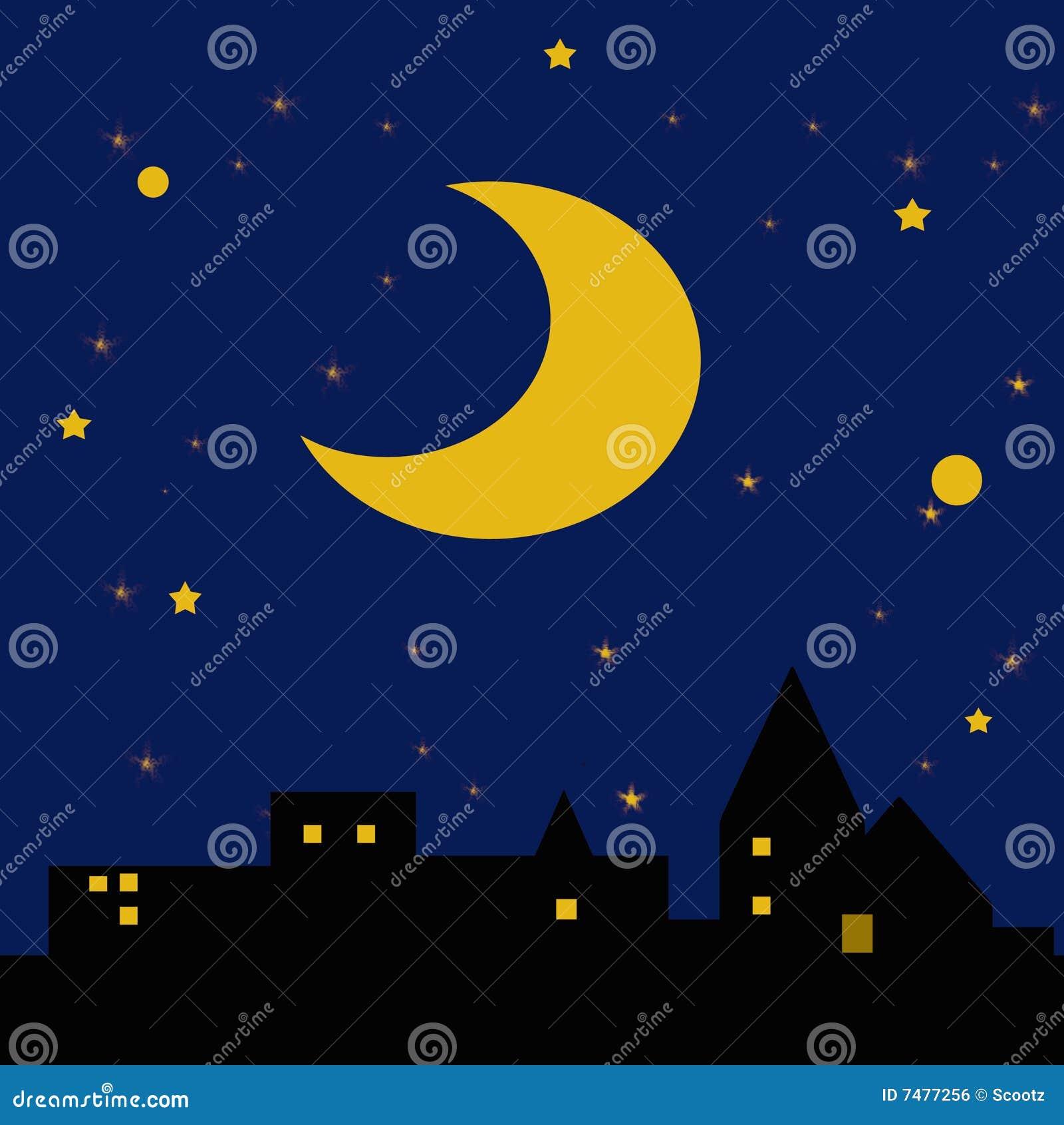 Noche estrellada estrellada