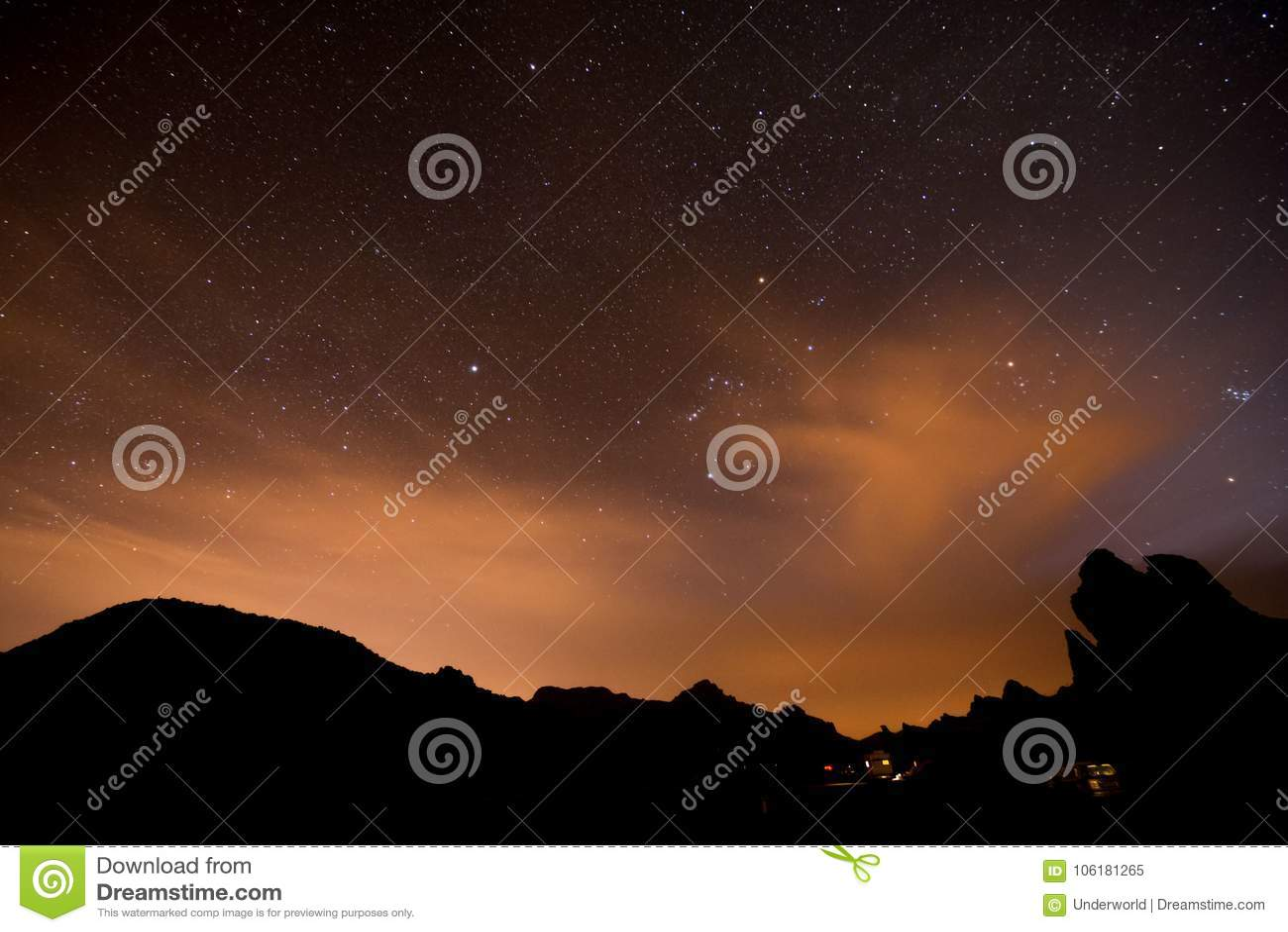 Nocne Niebo obrazek