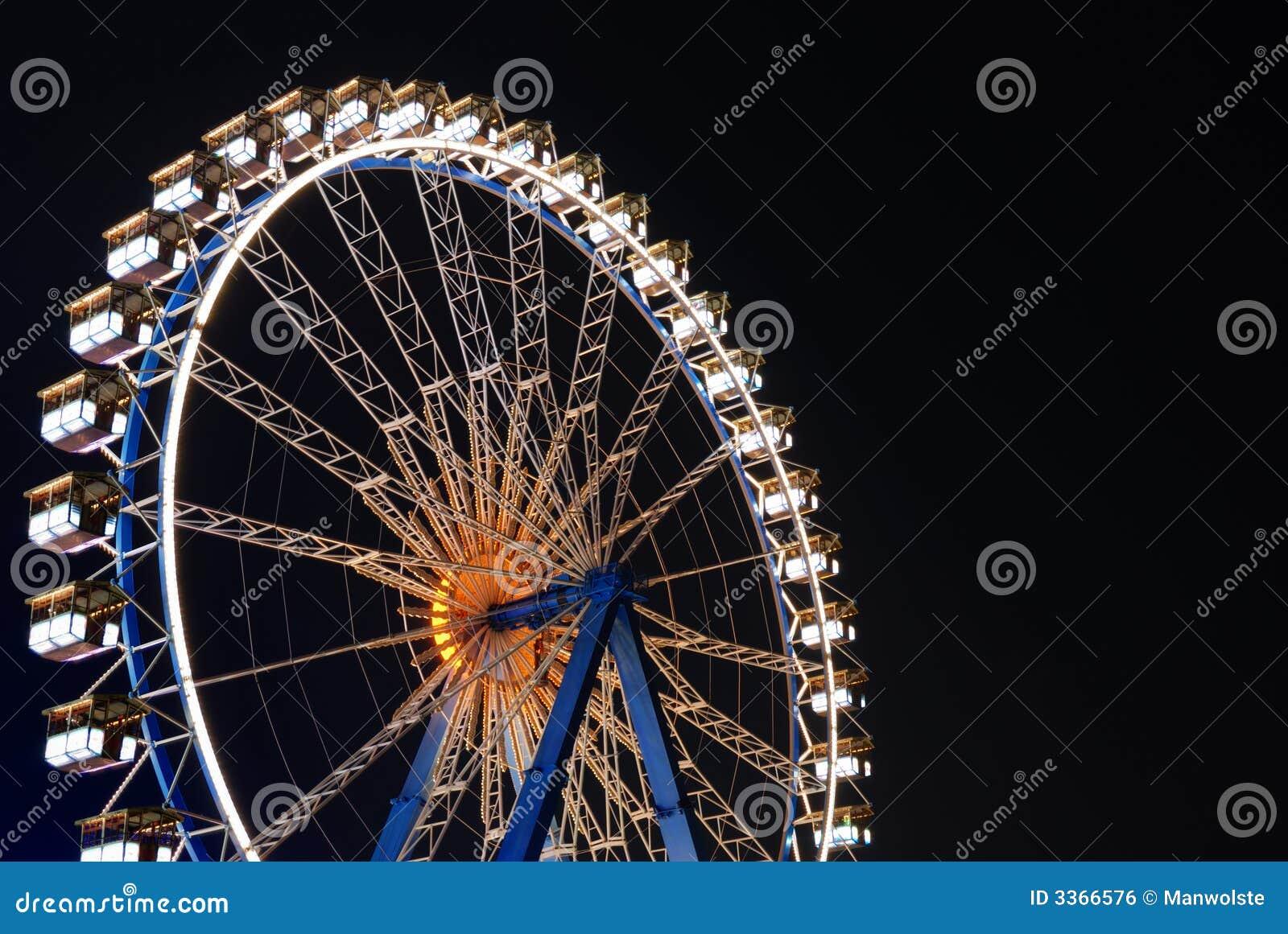 Nocy koło ferris