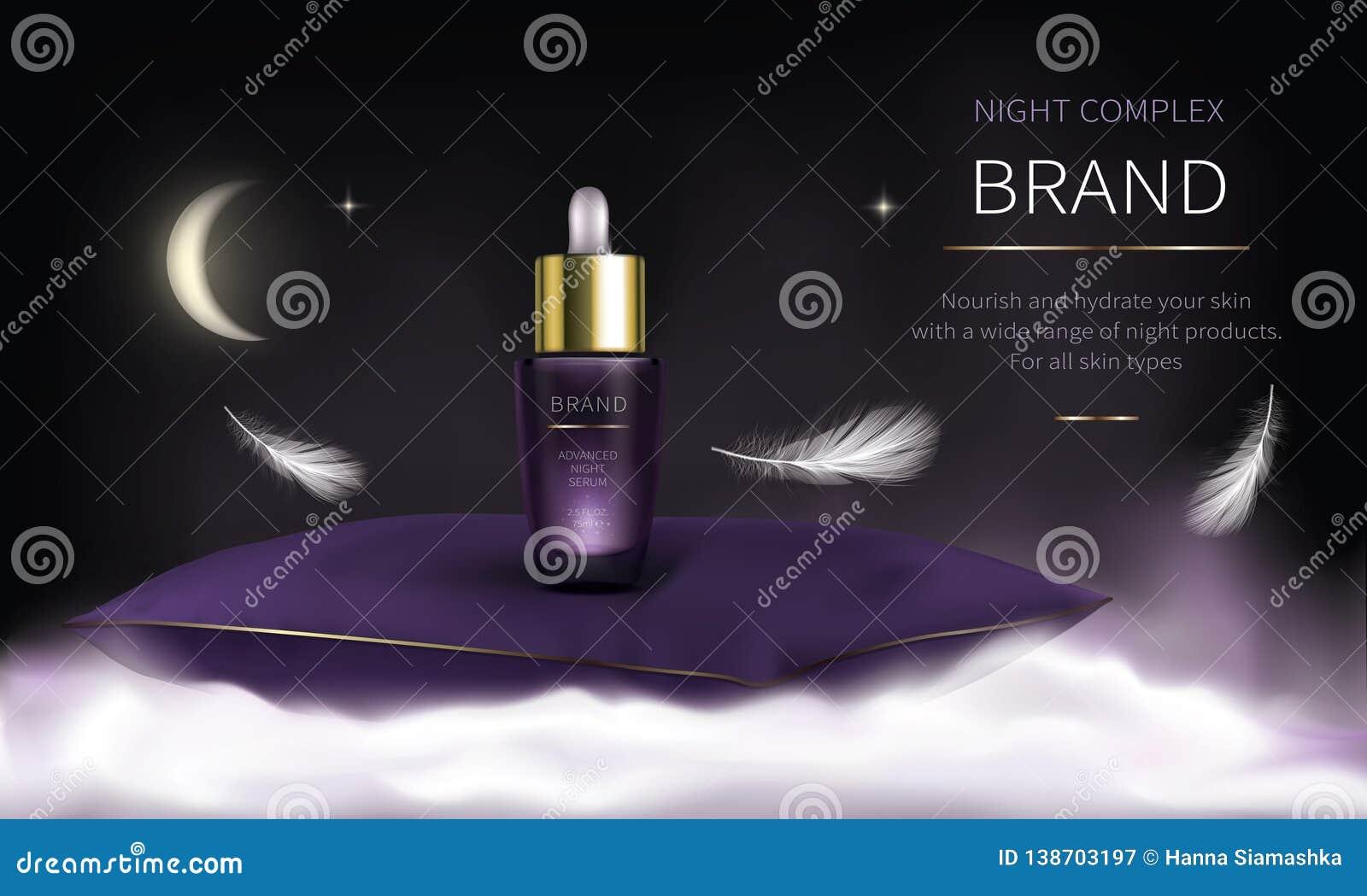 Nocy kosmetyczne serie dla twarzy skóry opieki