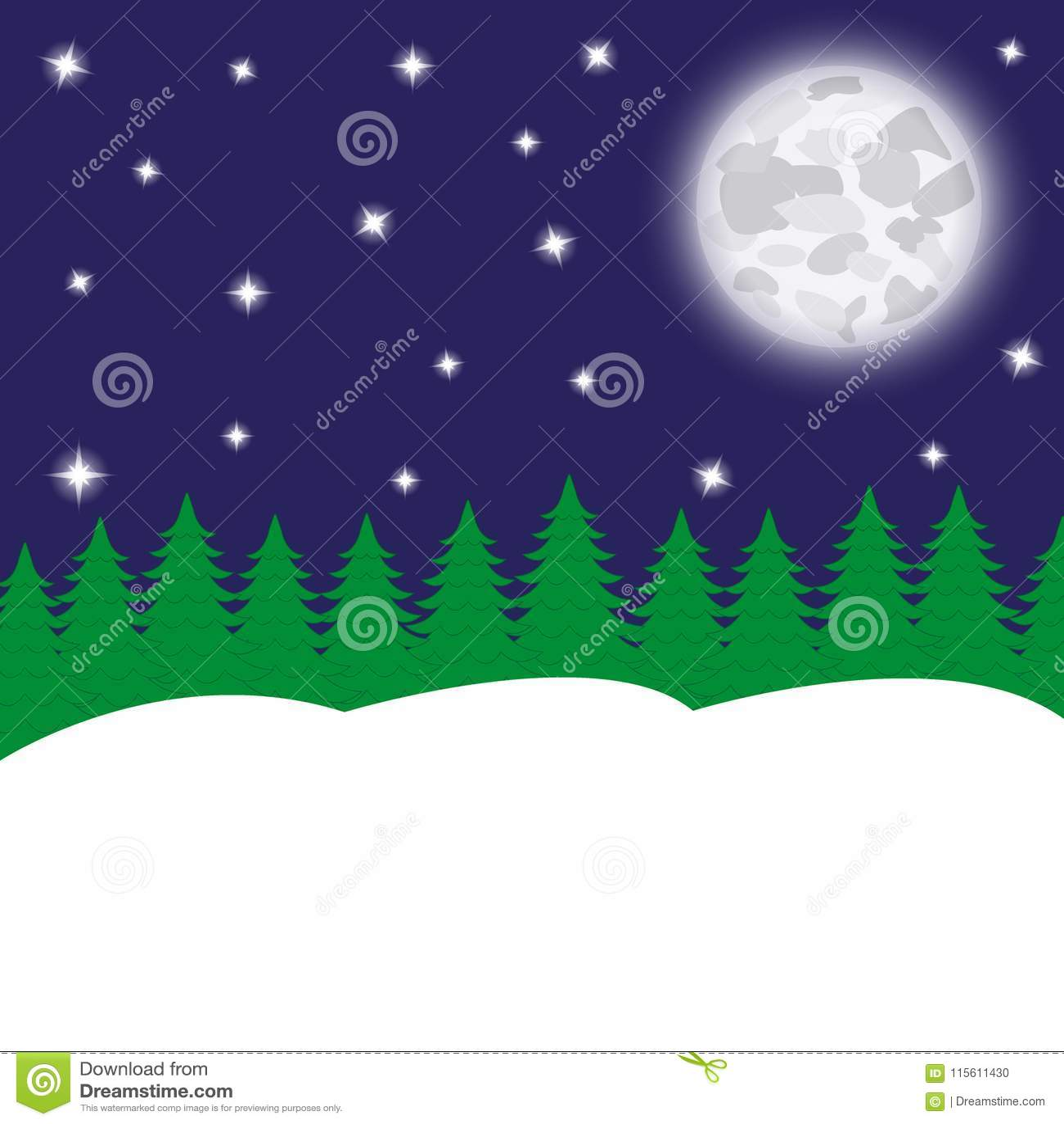 Nocy księżyc i