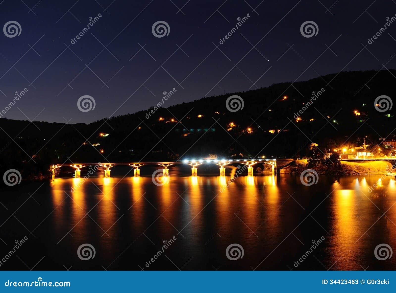 Nocy scena, Geres, Portugalia