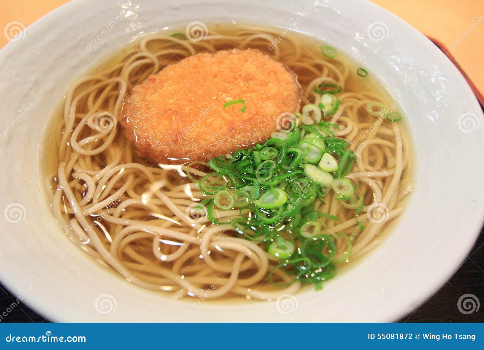 Asian noddle soup