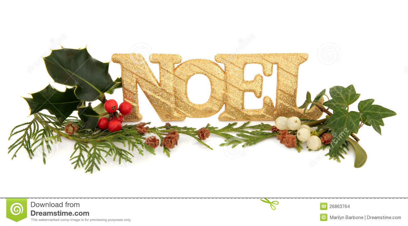Noel glitter decoration stock images image 26863764 - Deco de noel naturelle ...