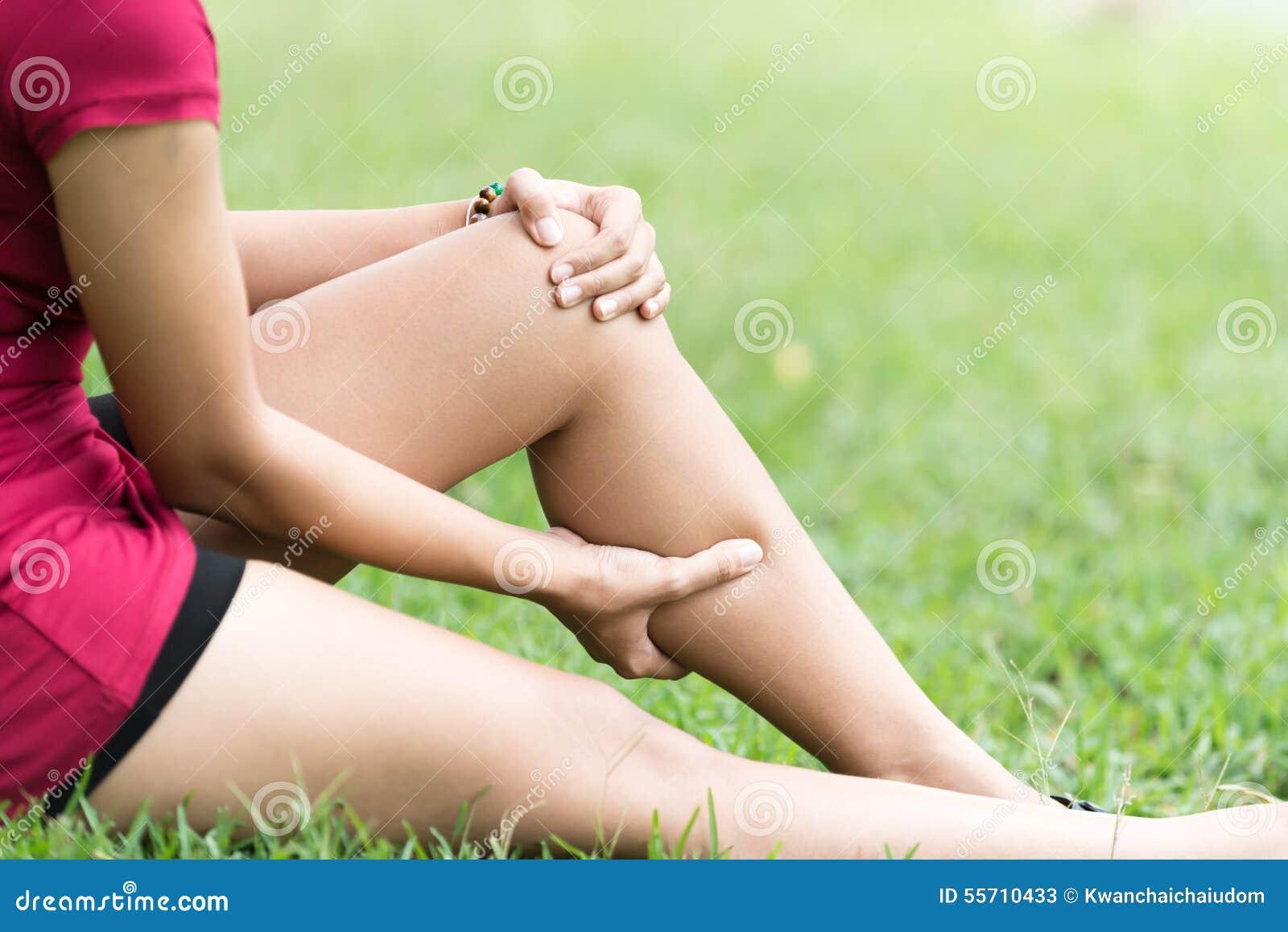 Noga ból W kobiecie