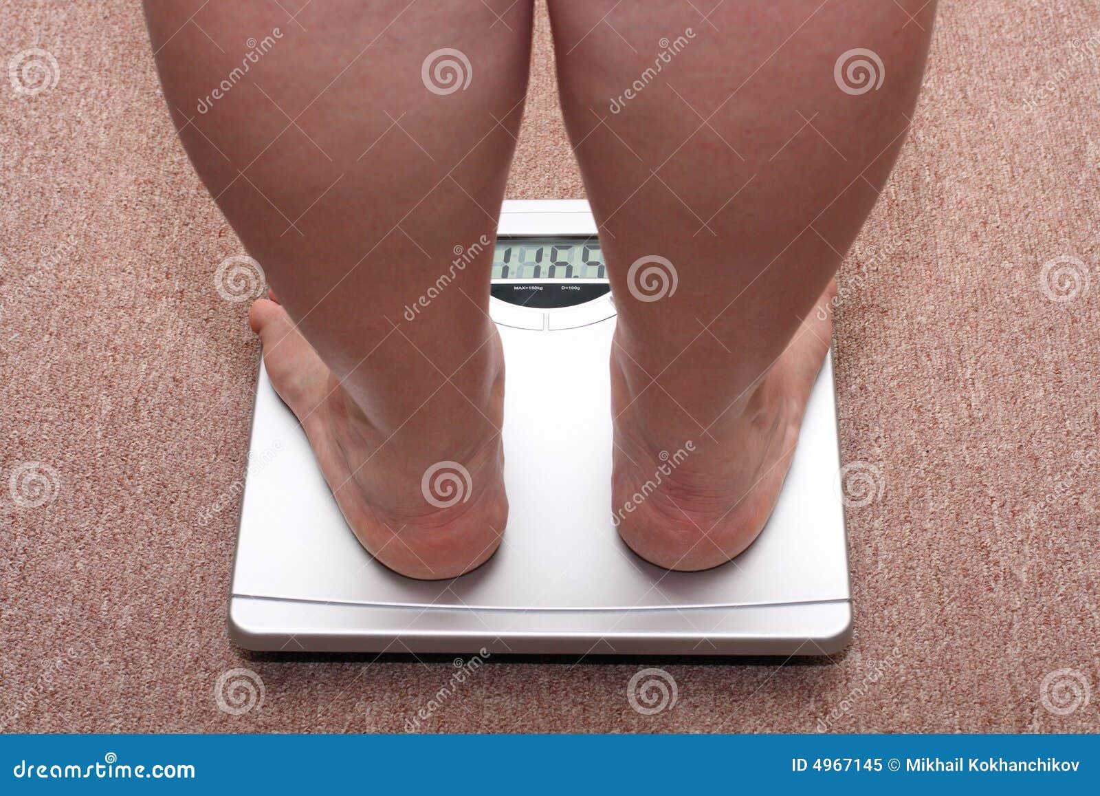 Nogi na nadwagę kobiety