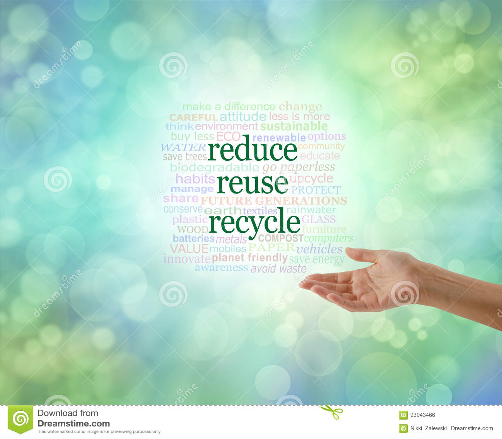 Noi tutta la necessità di fare questo: Riduca la riutilizzazione riciclano