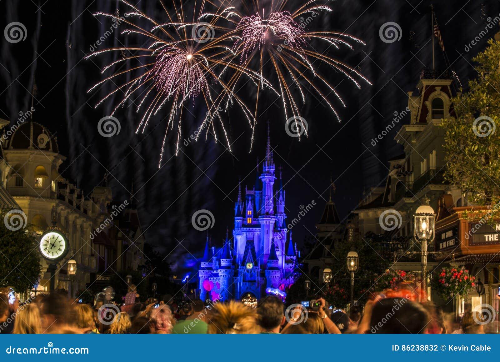 Noite de Disney Orlando Castle