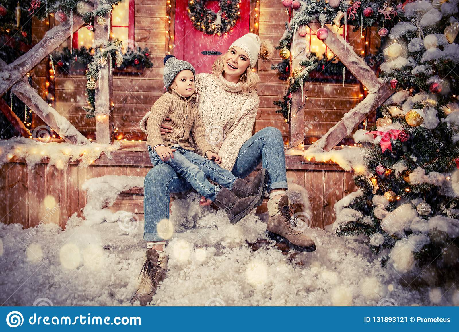 Noite de Natal com família