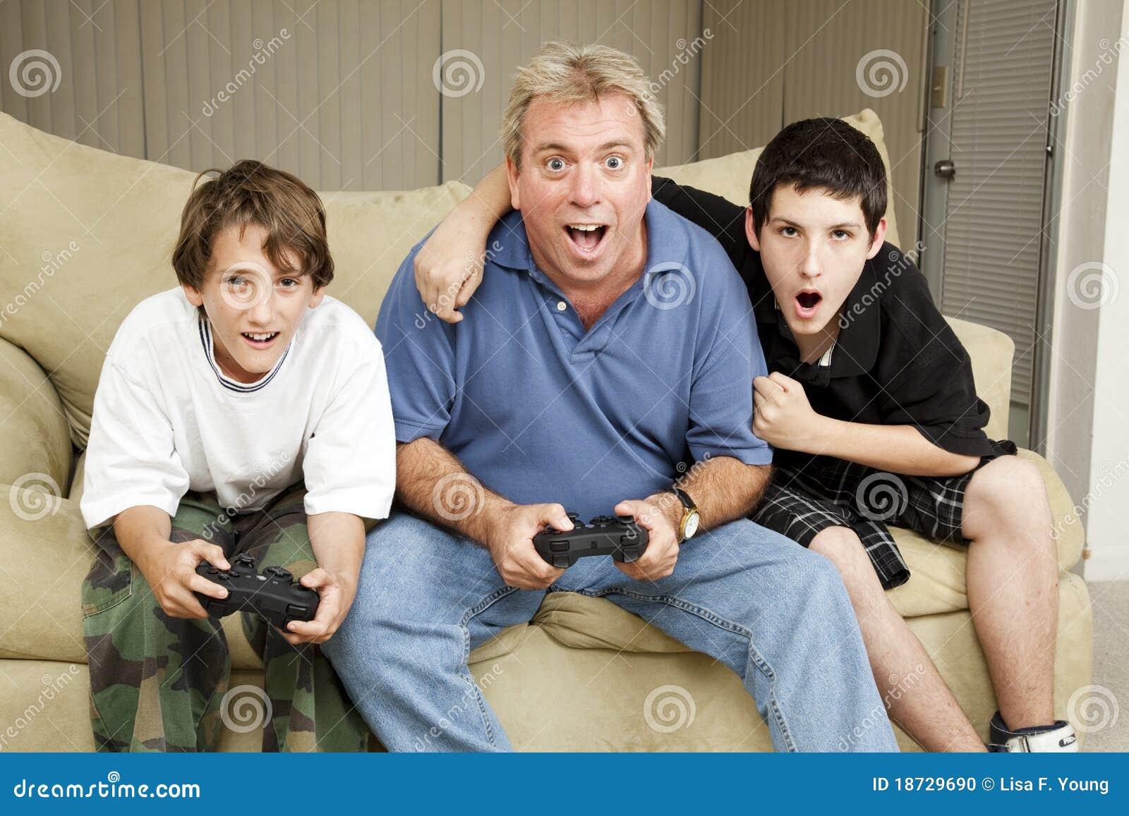 Noite do jogo da família