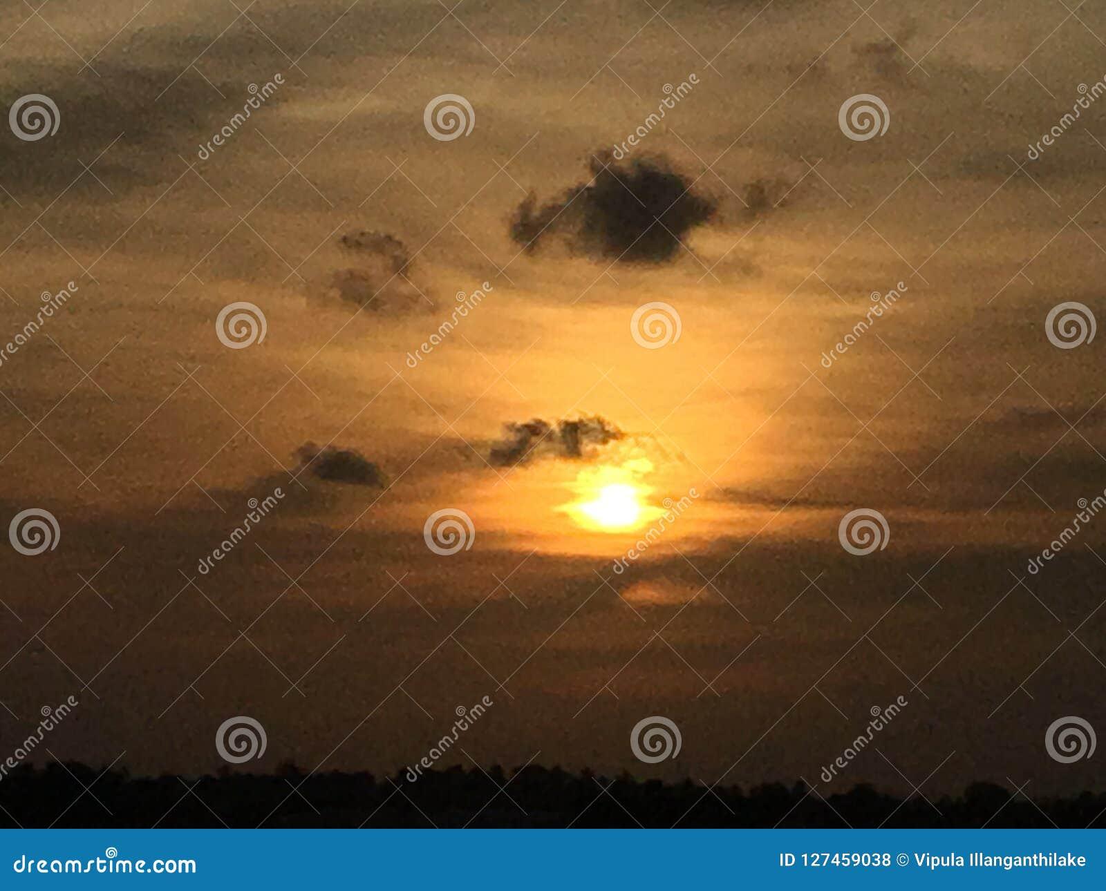 Noite em Sri Lanka