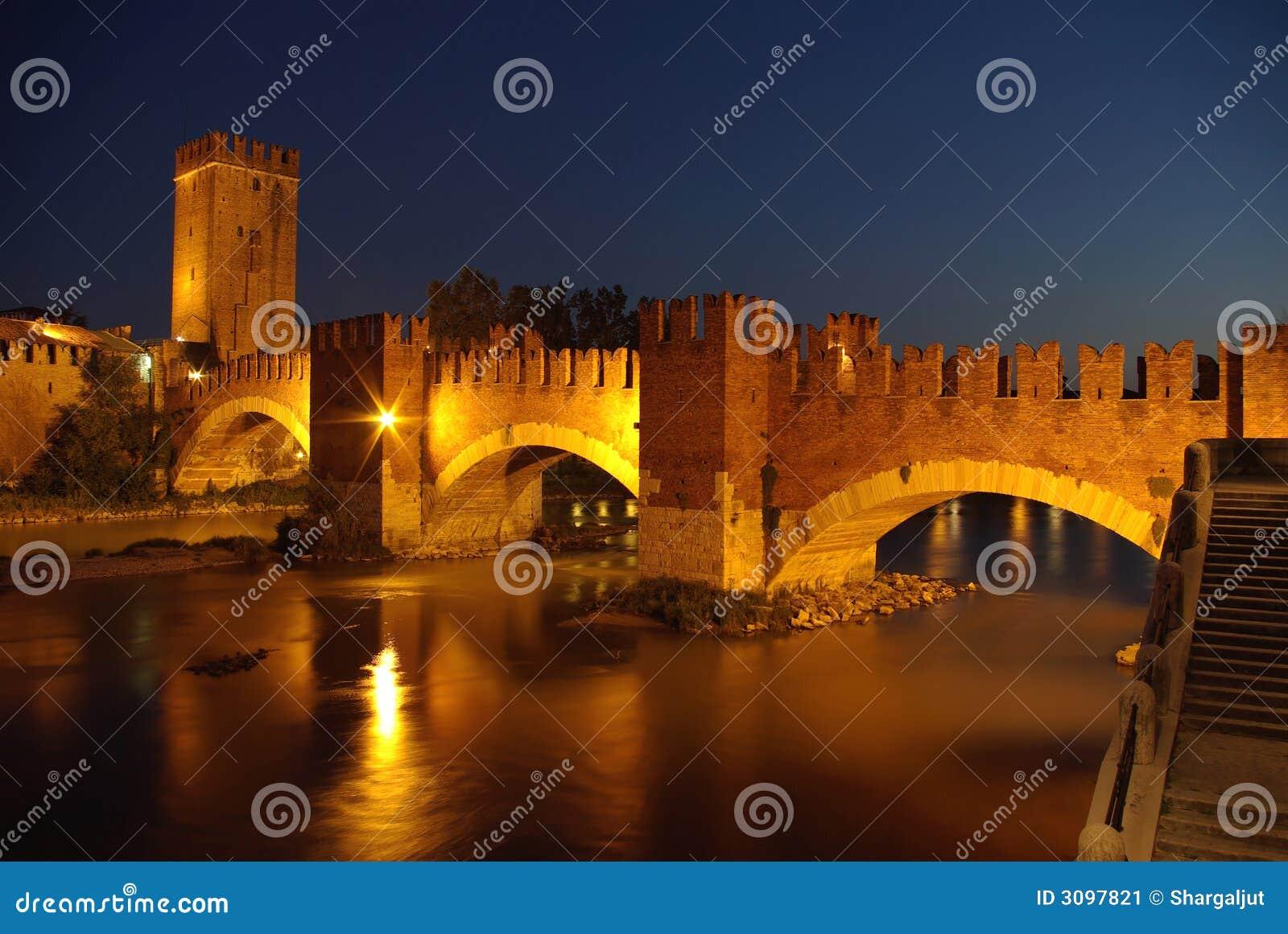 Noite em Verona, Italy