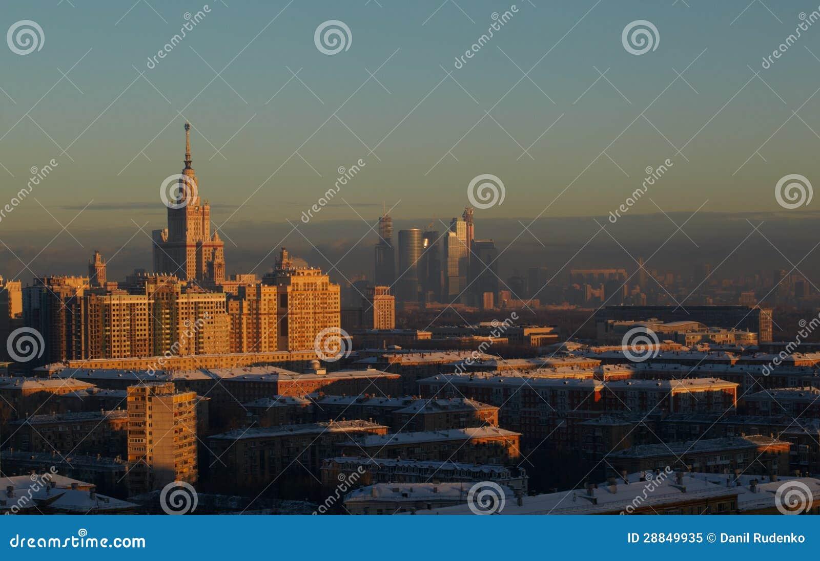 Noite Moscovo.
