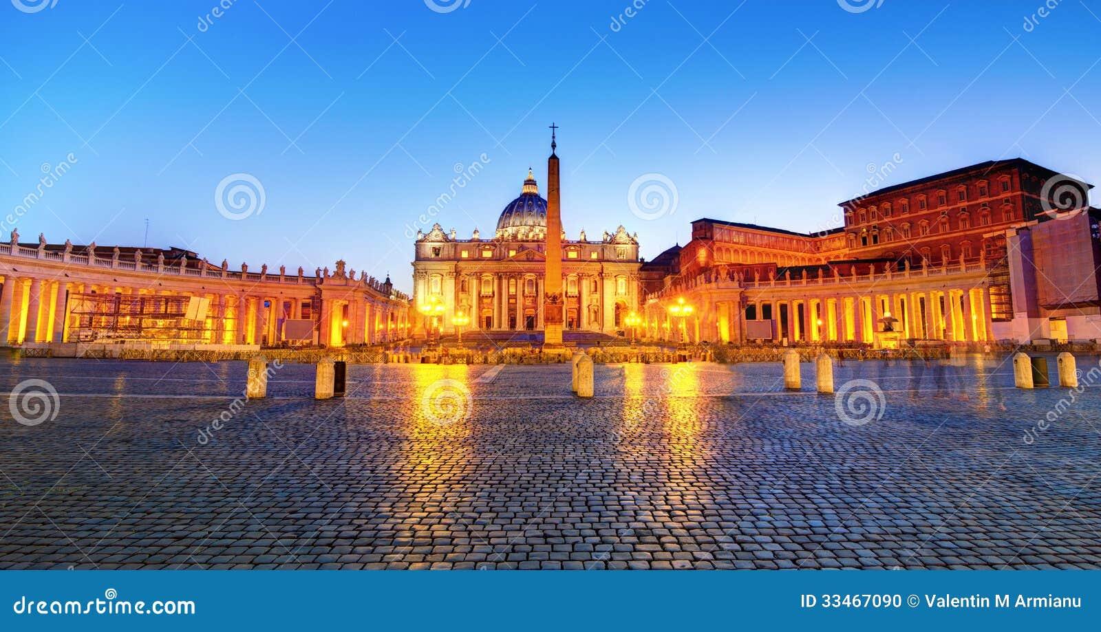 A noite quadrada de St Peter