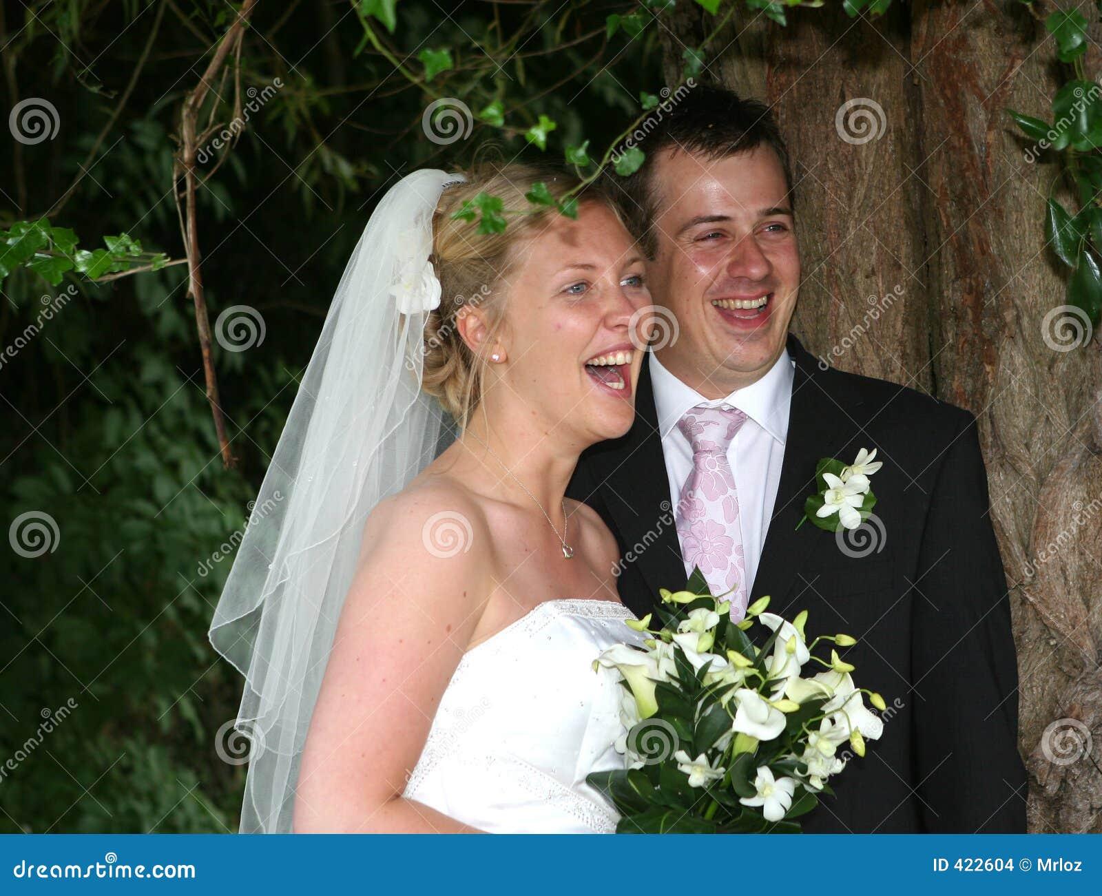 A noiva e o noivo