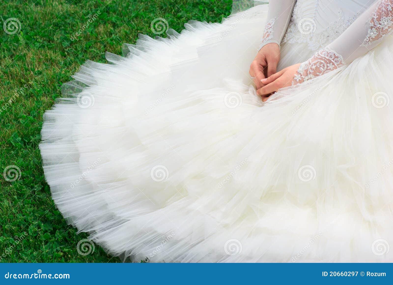 Noiva no vestido bonito