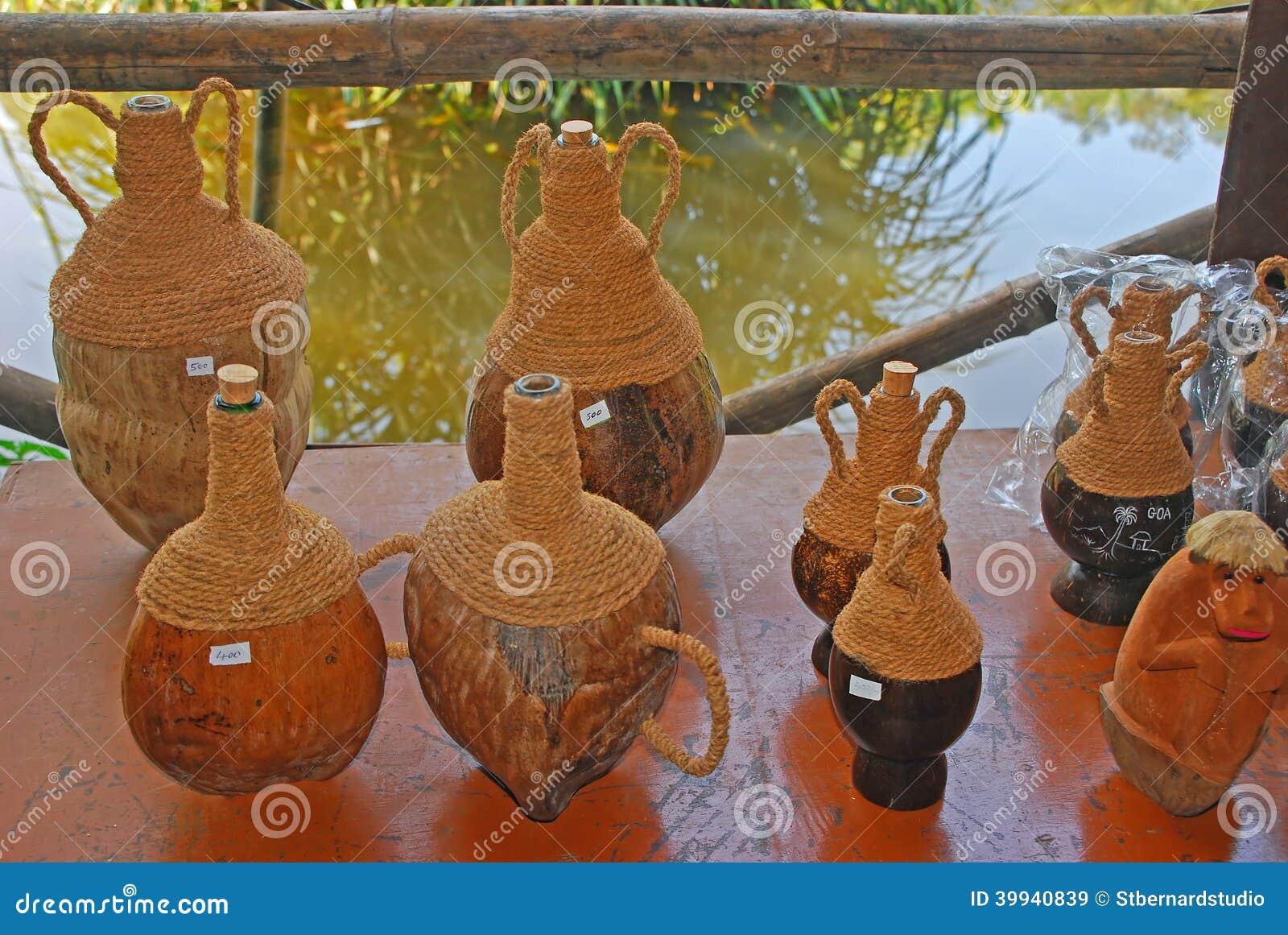 Noix de coco Shell Souvenir