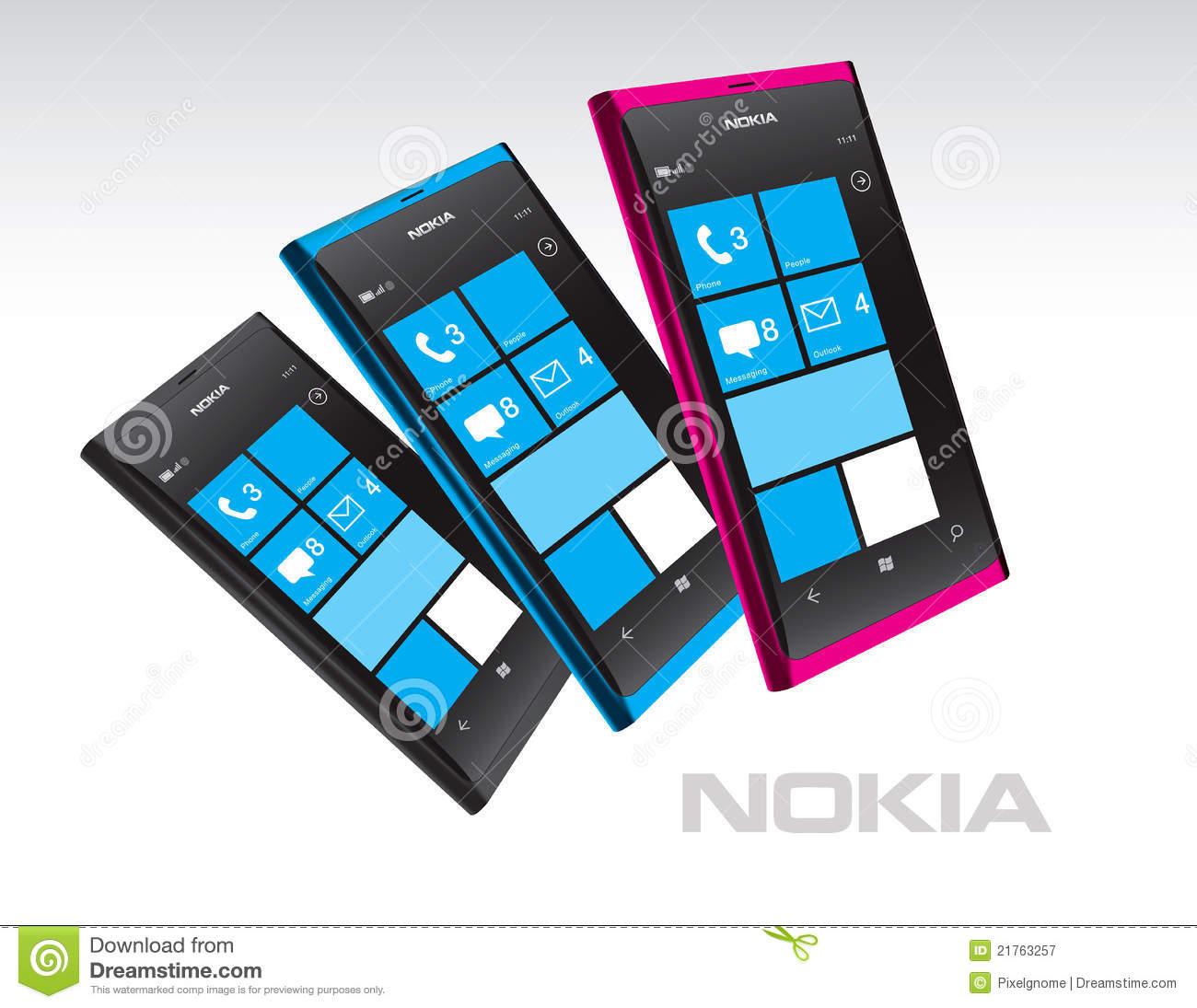 Windows Phone OS, handsets Lumia 800 and Lumia 710 announced
