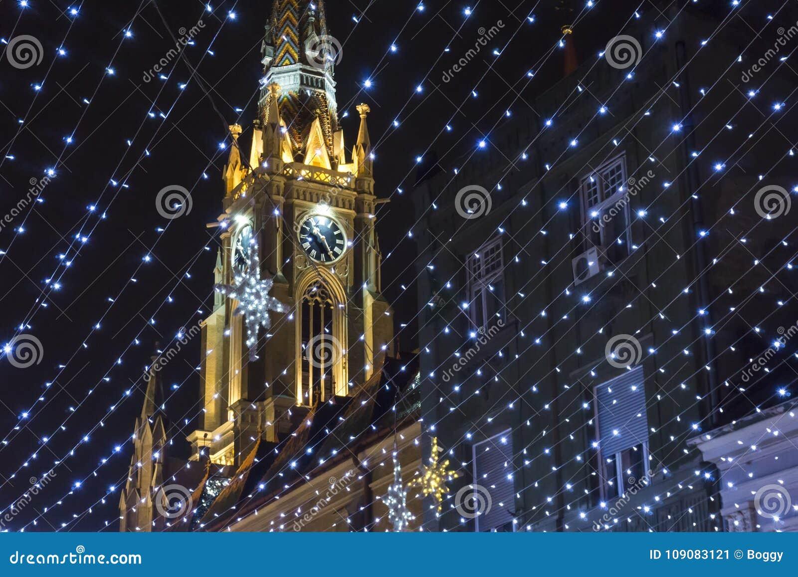 Nom de Mary Church à Novi Sad, Serbie