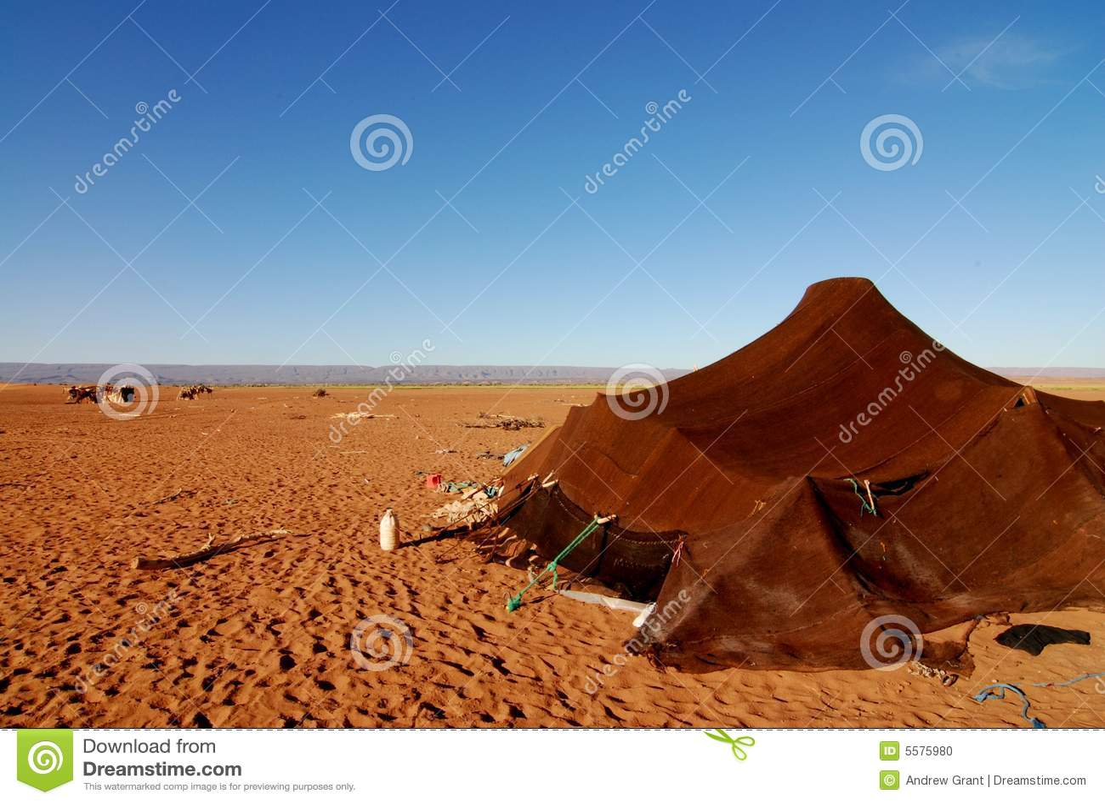 nomad tent in sahara desert stock photo image 5575980