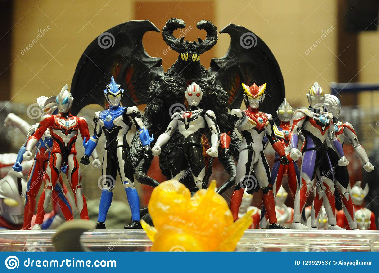 Nombre d actions fictif célèbre d Ultraman