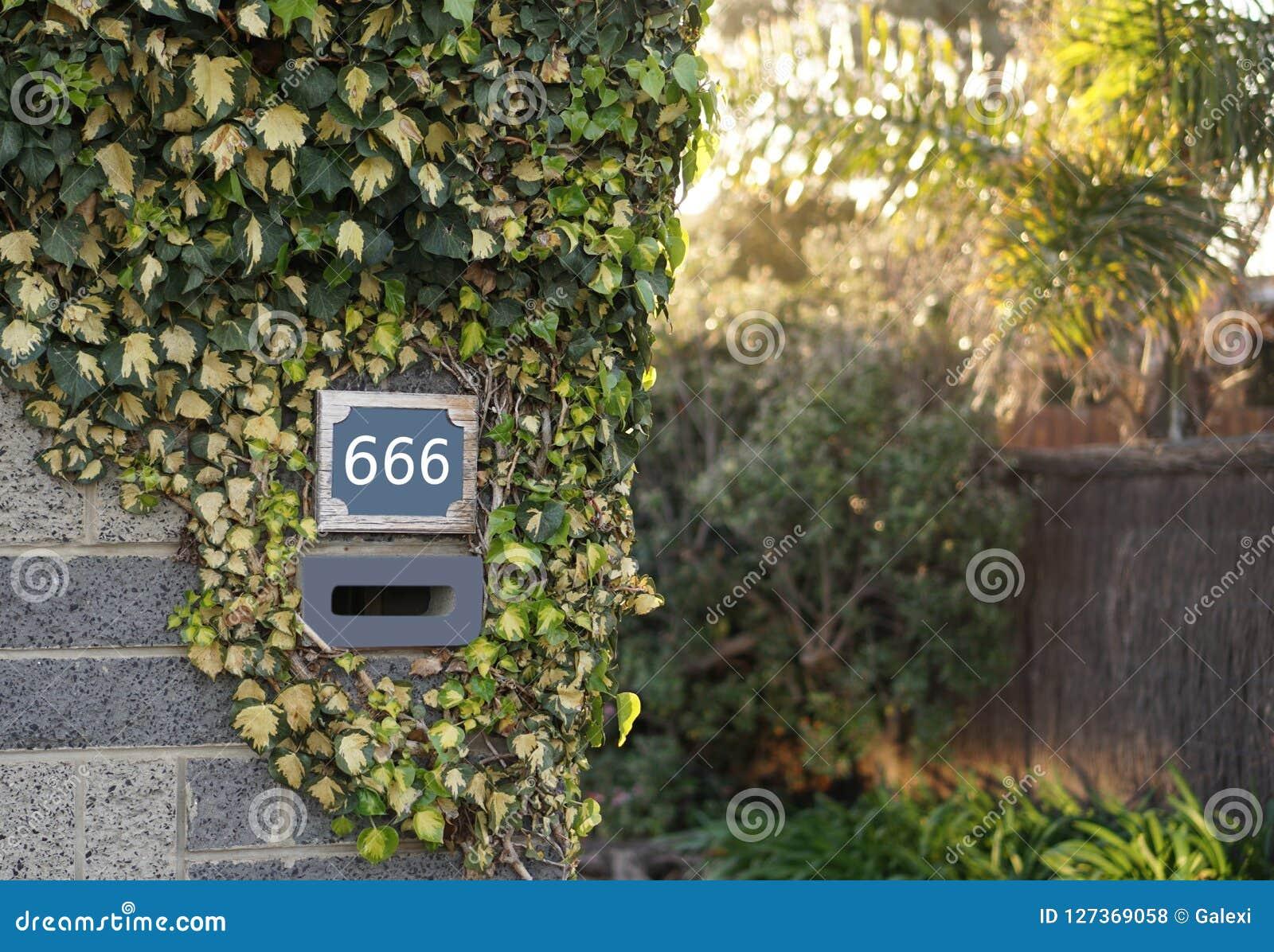 Nombre de la bête 666