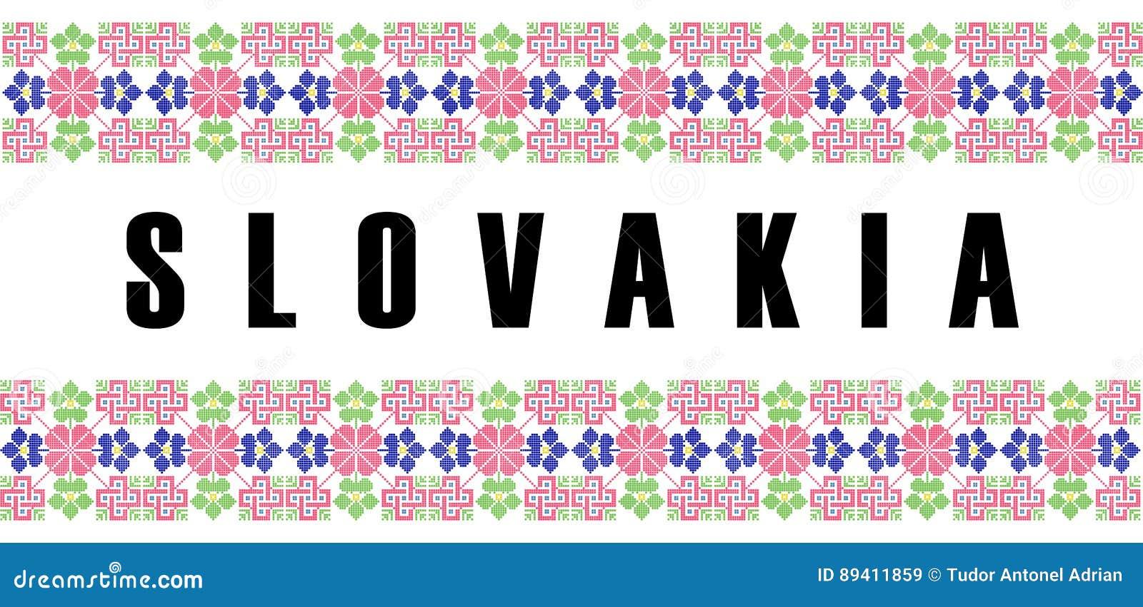Nome do símbolo do país de slovakia