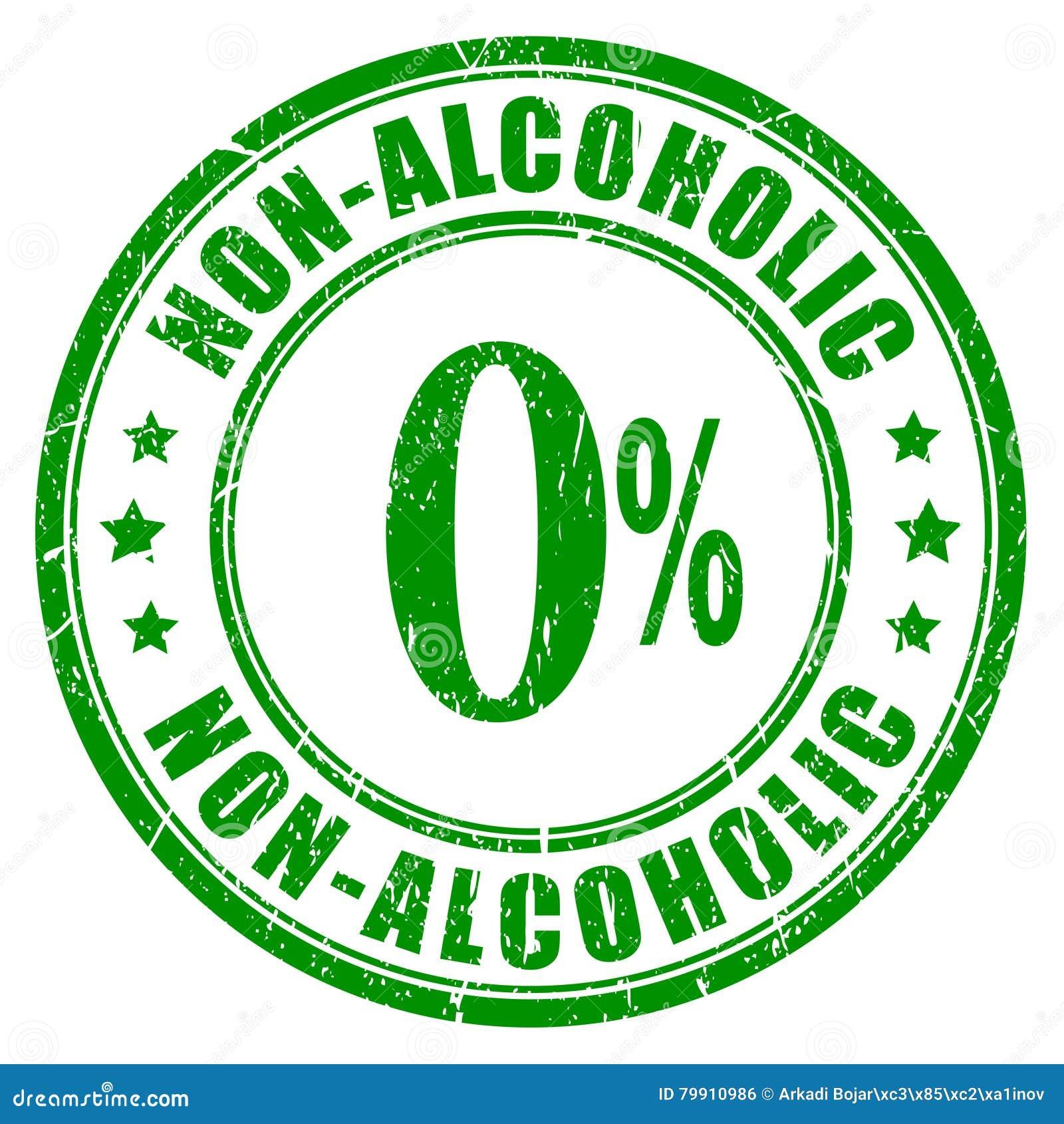 Non alkoholiczna pieczątka