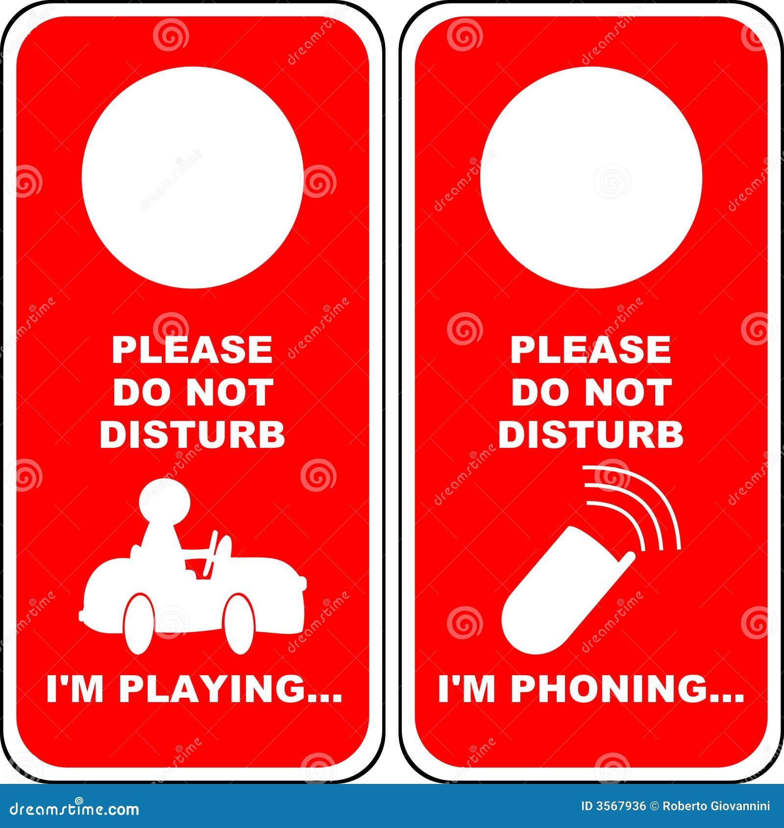 Non disturbi [2]