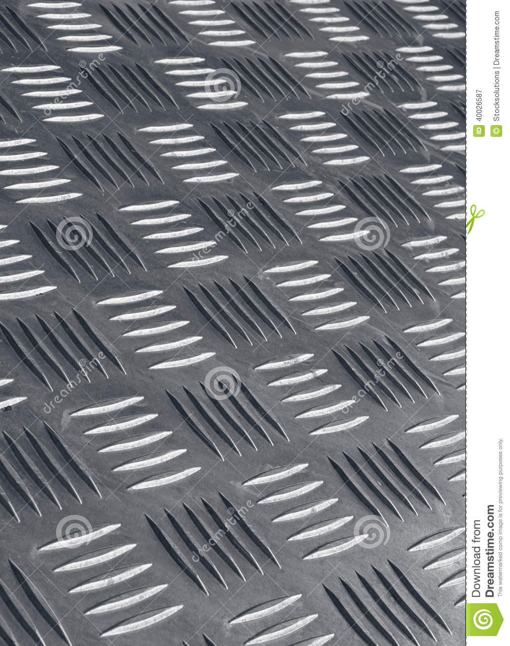 Non Skid Metal Flooring Stock Photo - Image: 40026587