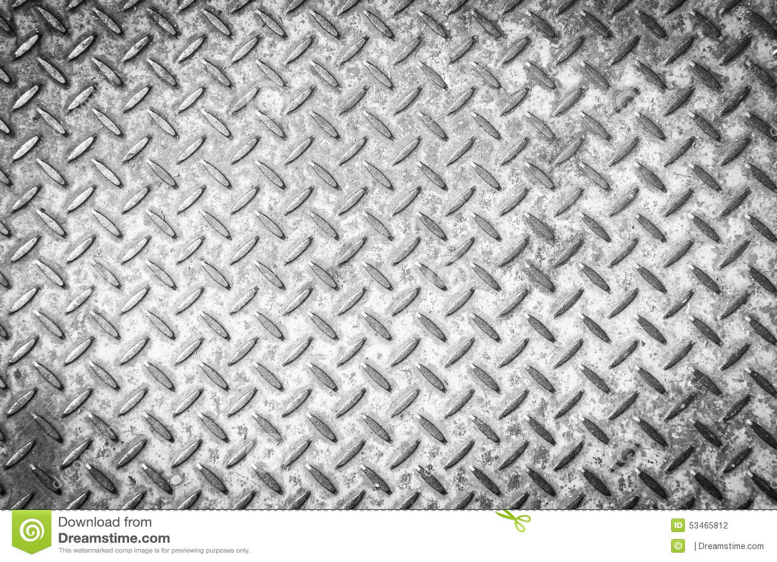 Non-slip steel grating step background