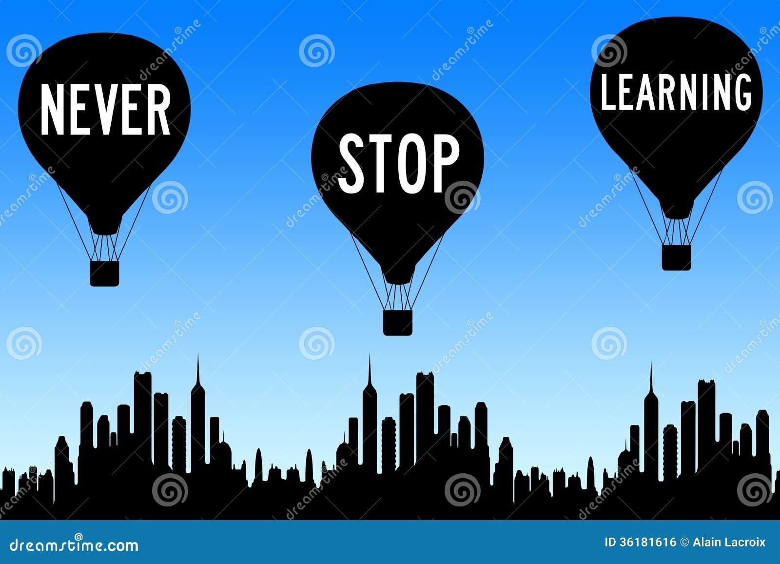 Non smetta mai di imparare